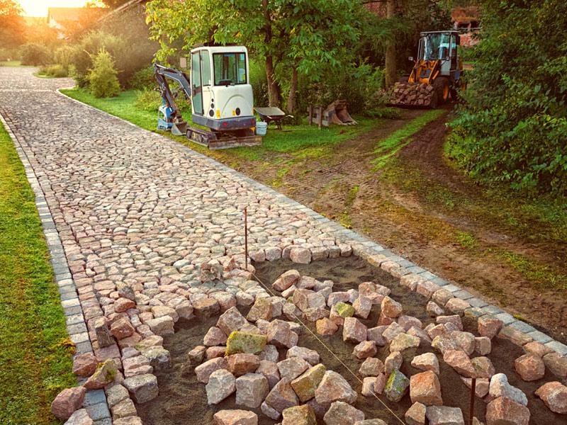 pflastern oster gärten Landschaftsgärtner kleve Niederrhein